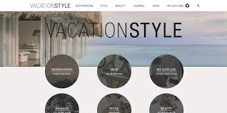 Making Outfits Website Fashion Lifestyle Website Design Development Vacationstyle