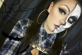 chola skull makeup tutorial