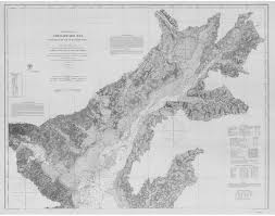 Historical Nautical Charts Of The Chesapeake Bay 1 80 000