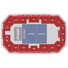 Ralston Arena Ralston Tickets Schedule Seating Chart