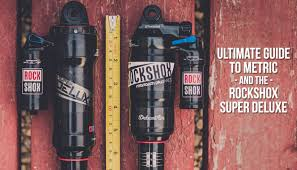 Shock Measurement Chart The Ultimate Guide To Metric Shock Sizing And The Rockshox