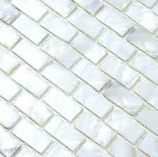 mother of pearl mosaic tile tiles subway shell backsplash canada pear