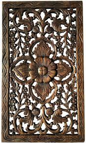 wooden wall art panels carved wall art wood carved wall art rustic home decor teak wood wooden wall art