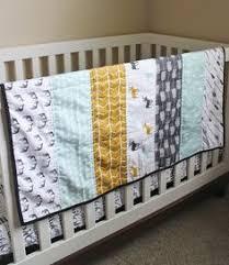 Cheater Quilt Fabric - Briar Woods V2 // 1 Yard Cut By ... & Wholecloth Woodland Nursery Quilt. Crib Quilt. Nursery Blanket. Antlers,  Deer, Moose Adamdwight.com