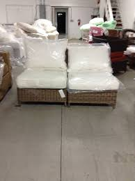 gallery of pottery barn all weather wicker torrey sofa sectional chair natural w cushion with pottery barn outdoor furniture