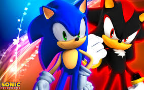 Sonic The Hedgehog Wallpaper For Bedrooms Sonic And Shadow Desktop Pics Wallpapers 7681 Amazing Wallpaperz