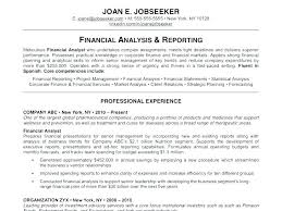 Example Resume For Job An Example Of A Good Resume Sample Of A Good
