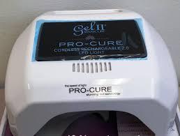 Gel 2 Led Light Cordless Buy Gel Ii Pro Cure 2 0 Cordless Rechargable Lamp New