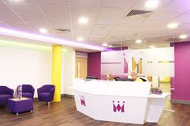 office reception designs. A Branded Office Reception Desk Designs E