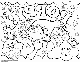 Disney Trolls Coloring Pages At Getdrawingscom Free For Personal