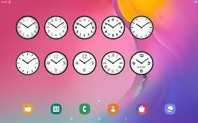 Analog Clock Widget for Home Screen-7 ...