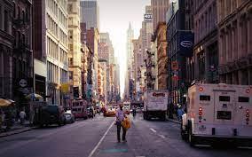 New york city streets, New york street ...