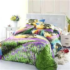 lavender bedding sets sunset lavender fields bedding set queen size quilt cover pillow case bed linen high grade cotton fabric bedroom sets in bedding sets