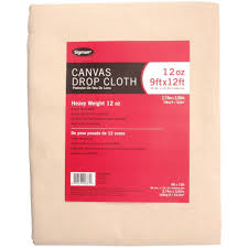 sigman 8 ft 6 in x 11 ft 6 in 12 oz canvas drop cloth cd120912 the home depot