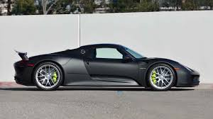 porsche 918 spyder black. 2015 porsche 918 spyder weissach 2 full screen black e