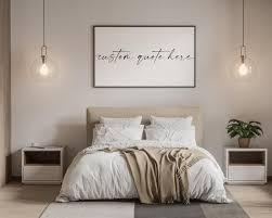 bed master bedroom wall decor