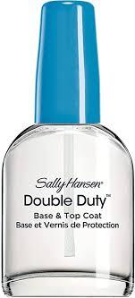 <b>Sally Hansen Double</b> Duty Strengthening Base and Top Coat, 13.3ml