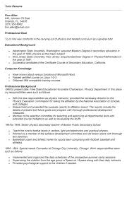 Sample Resume For Tutors Math Tutor Resume Example Krida Info