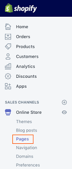 Shopify Size Chart How To Add A Size Chart To Your Product Pages Pipeline