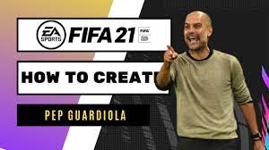 How to Create Pep Guardiola - FIFA 21 Lookalike for Career Mode - YouTube