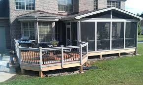 screened in deck. Screened Deck Pictures Porch And . In