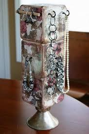 22 ides de rangement pour vos bijoux. Diy Jewelry HolderDiy ...