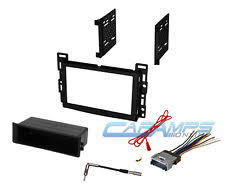 wiring harness chevrolet cobalt car stereo radio receiver dash installation mounting kit w wiring harness plug fits