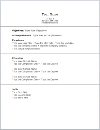 Resume With No Work Experience Template New First Resume No Work Experience Template First Time Resume With No