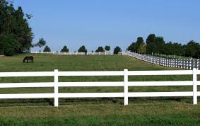 Horse Fencing and Your Farm Part 2 Horse Fence Styles Straight
