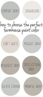 farmhouse paint colorsHow to Choose the Perfect Farmhouse Paint Colors