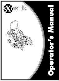 Exmark Lazer Z Light Kit Exmark Lazer Z S Series 920 Users Manual