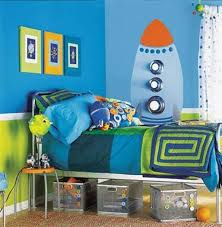 space themed bedroom for s