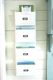 wall file folder holder organizer meet mail mounted rack mount metal