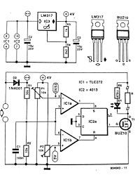 solar panel shunt regulator circuit diagram in the shunt regulator for solar panel circuit diagram above t1 switches the external load completely on or off therefore the dissipation in this fet