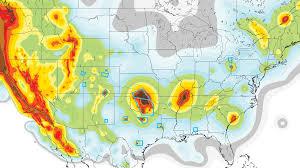 heartland danger zones emerge on new us earthquake hazard map