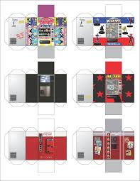 Papercraft Vending Machine