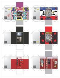 Papercraft Vending Machine Magnificent Heroclix Vending Machine Papercraft Gaming Pinterest Vending