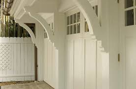 clear garage doorsClear Garage Doors Traditional with Pickets Wooden Front Doors6