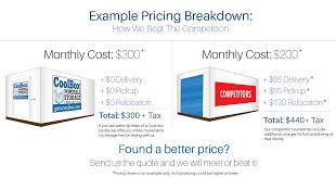 Cool Box VsPODS Storage Free Online Quote Impressive Pods Quote