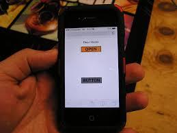 iphone garage door openerSmartphone Garage Door Opener  freemansgaragecom