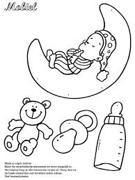 Kleurplaten Van Baby Brekelmansadviesgroep