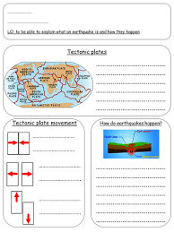 To make a plot diagram worksheet, click the customize this example button below. Earthquakes Teaching Resources