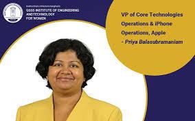 Priya Balasubramaniam is an #engineer... - GSSS Institute of Engineering  and Technology for Women, Mysuru | Facebook