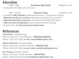 Sample Resume For Nursing Assistant New Cna Sample Resume Simple Resume Examples For Jobs