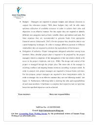 sample on project management by instant essay writing  16