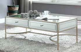 wisteria mirrored and rose gold coffee table australia