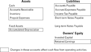 Cash Flows From Operating Activities How To Manage Operating Cash Flows Dummies
