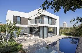 simple modern house.  Simple Shai Epstein Backyard Facade Of Simple Modern Home By SacharRozenfeld  Architects And Simple Modern House S
