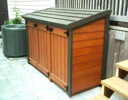 storage sheds wooden outdoor shed wood plans small wall design ideas of garbage can home
