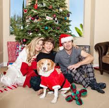 Family Christmas Photo Family Christmas In Pajamas Stock Photo Ac Deborahkolb 14085633